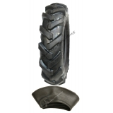 400 8 cleated tyre. open cente,lug, ch..