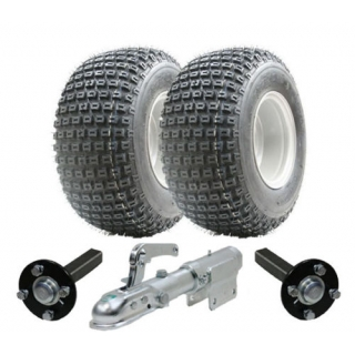 ATV trailer kit,Wanda wheels+hub & stu..