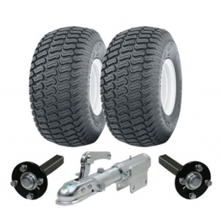 Heavy duty ATV trailer kit 900kg wheel..