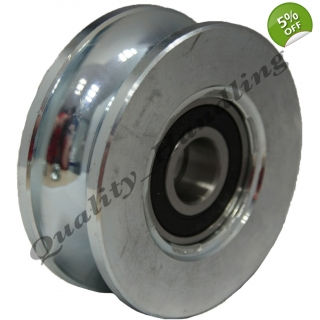 pulley wheel 80mm Round..