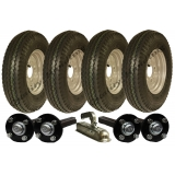 twin axle trailer kit 4.80/4.00-8,whee..