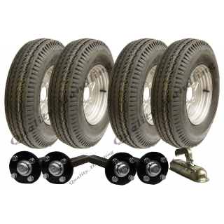 High speed twin axle trailer kit 5.00-..