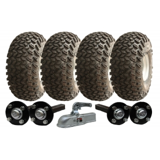 22x11-10 twin axle ATV ..