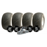 twin axle ATV trailer kit, wheels hubs..