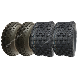 four Slasher quad tyres..