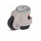 Levelling castor 72mm wheel caster ext..