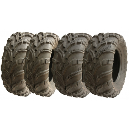 4 - ATV tyres 25x10-12 & 25x8-12 6ply P377 road legal