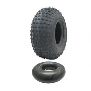 145/70-6 ATV tyre and tube set - Wanda..