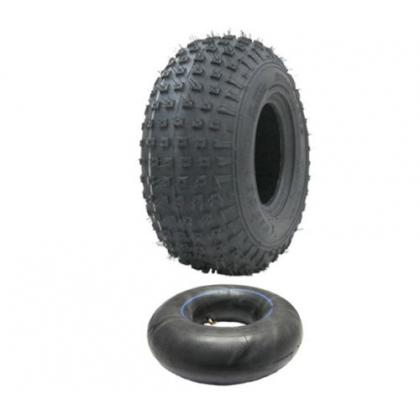 145/70-6 ATV tyre and tube set - Wanda P319