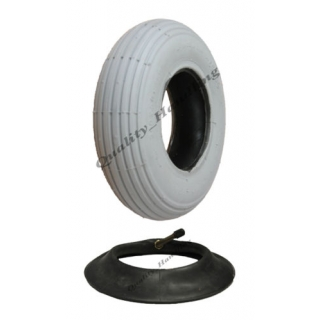 1 Grey Mobility Scooter tyre and tube ..