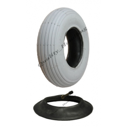 1 Grey Mobility Scooter tyre and tube 200x50