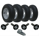 Twin axle trailer kit 145x10 road lega..