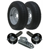Trailer kit 145x10 road legal wheels h..
