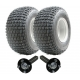 ATV trailer kit -wheels+hub/stub,No Hitch 200kg