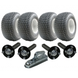 Twin axle ATV trailer kit - 4 wheels +..