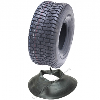 15x6.00-6 4ply Multi turf grass tyre with tube Deli 365