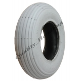 200x50 ribbed Grey Mobility Scooter tyre