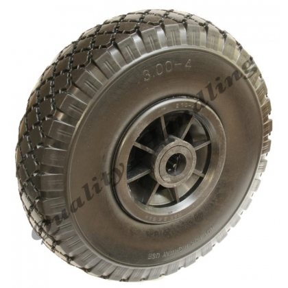 "10"" 260x85mm puncture proof -flat free wheel, roller bearing,"