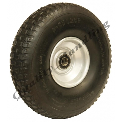 4.10x3.50-4 puncture proof wheel,16mm ball bearing