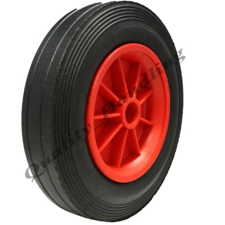 250mm solid rubber whee..