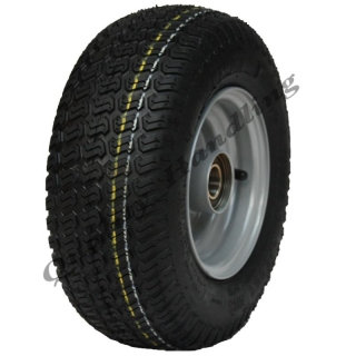 13x5.00-6 grass tyre on wheel rim