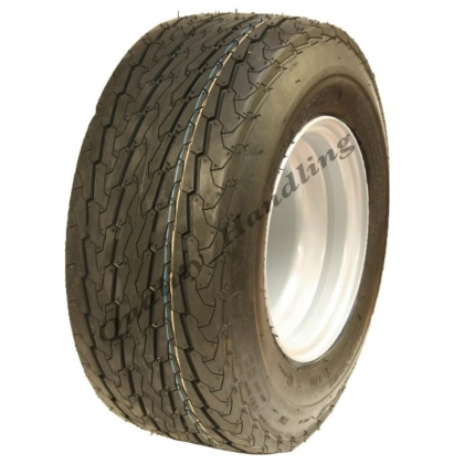 16.5x6.50-8 trailer wheel 100mm PCD 6ply road legal