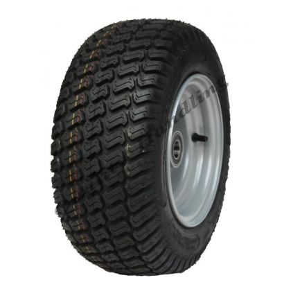 16x6.50-8 lawnmower tyre on rim