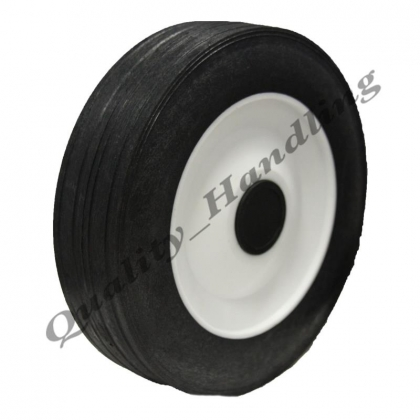 "170mm 7"" inch Lawnmower replacement rubber wheel truck barrow"