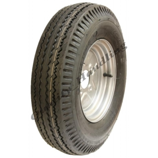 1 - 5.00-10 trailer wheel, 4 ply high ..