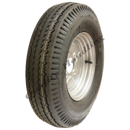 1 - 5.00-10 trailer wheel, 4 ply high speed road legal 355 kgs