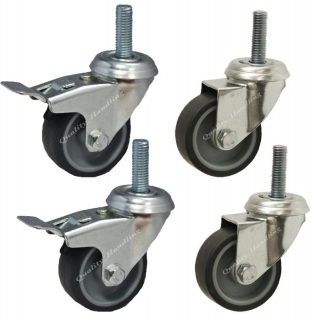 50mm 2 inch bolt hole swivel and brake..