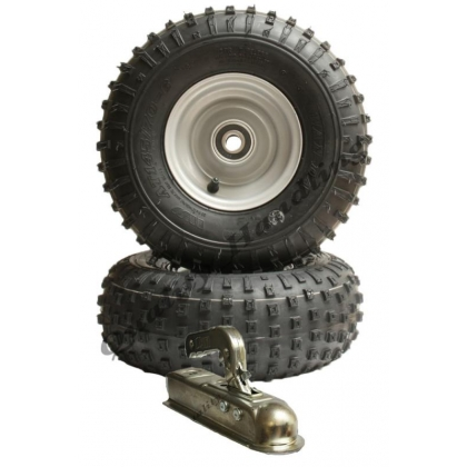 ATV trailer kit -wheels with bearings 150kg