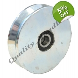 120mm pulley wheel V groove, Double ba..