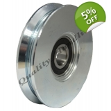 pulley wheel 100mm V groove