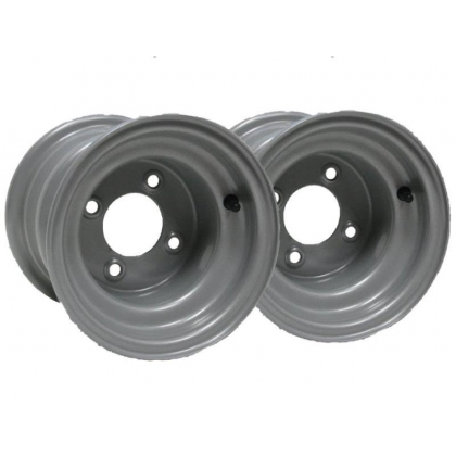 "Two - 8"" inch wheel rim quad bike 7.00x8 4 stud 100mm spacing"