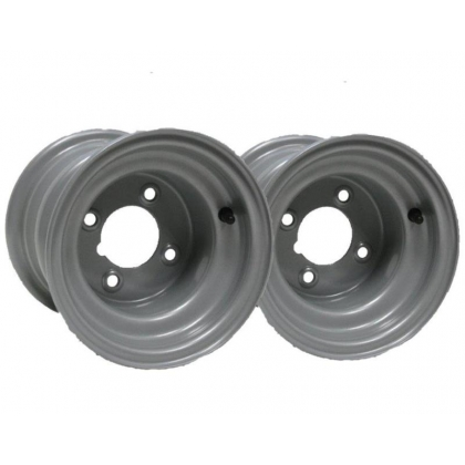 "Two -8"" inch wheel rim quad bike 7.00x8 4 stud compact tractor"