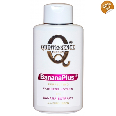 Quintessence® London BananaPlus® Perfecting Fairness Lotion with Banana Extract and Sunscreen