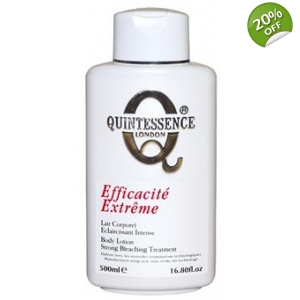 Quintessence® London Efficacité Extreme Strong Bleaching Treatment Body Lotion