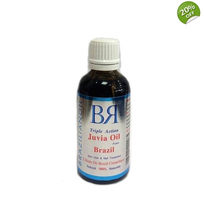 BrazilianOil® Triple Action Juvia Oil form Brazil Skin Hair & Nails Treatment 100% Natural