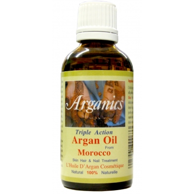 Arganics® 100% Pure Natural Argan Oil from Morocco