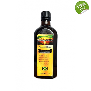 Kingston Classic Dark The Original Authentic Jamaican Black Castor Oil - No salt added