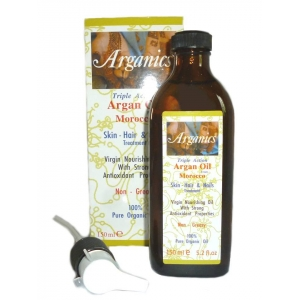 Arganics® Skin Hair & Nails Treatment Triple Action with Argan Oil from Morocco 150ml