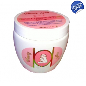 Beauty Fair 2 in 1 Swiss Collagen & Fade Cream®  for Face and Body 450ml