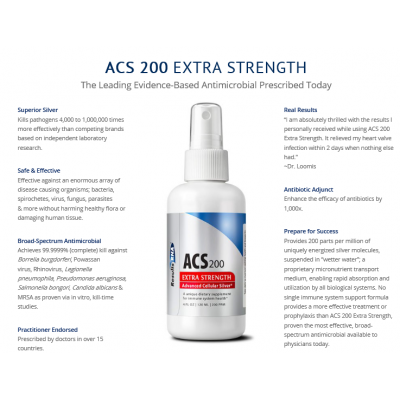 ACS 200 Silver Extra Strength 4oz  - Results RNA title=