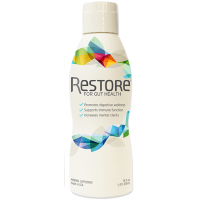 Restore Probiotic - Helps Good Gut bacteria Thrive - Leaky Gut title=