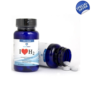 I Love H2 Hydrogen Water Tablets 1.5 PPM