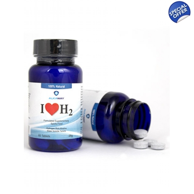 I Love H2 Hydrogen Water Tablets 1.5 PPM title=