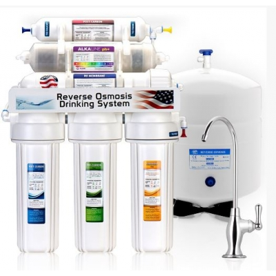 5 Stage Home Drinking water Reverse Osmosis System with PH+ title=