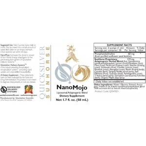 NanoMojo by Quicksilver Scientific Sunhorse Adaptogenic Liposomal