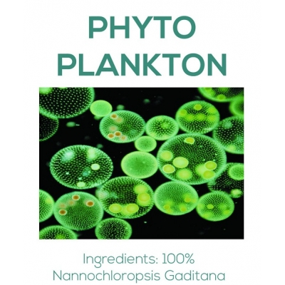 Marine Phytoplankton 100 g or 250 g - 100 Pct Pure Freeze-Dried title=